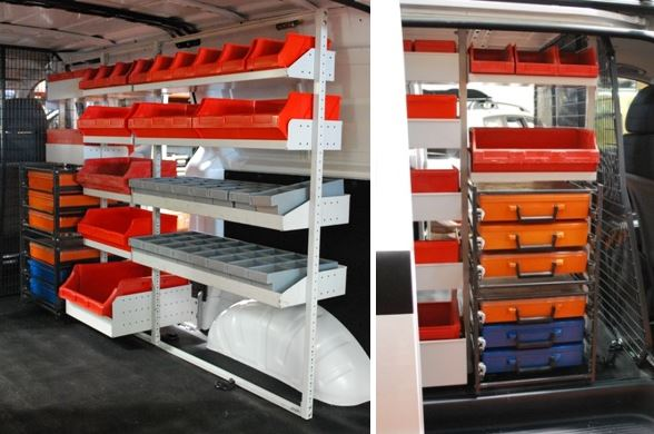 Roof Rack City Hyundai Iload Van Shelving Packages