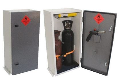 vented gas cabinet