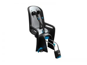 thule ridealong lite child seat on bike