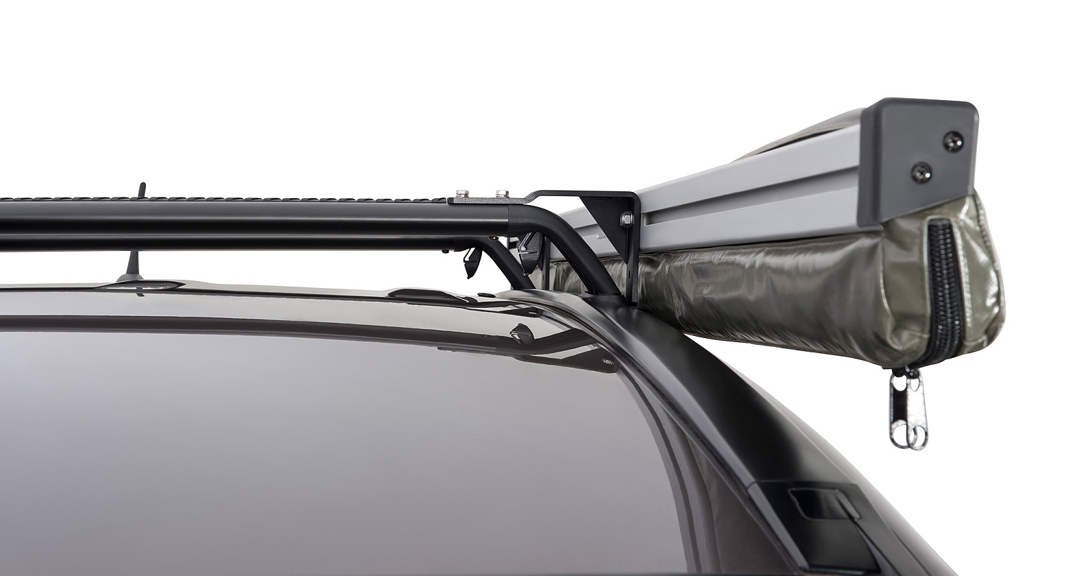 Roof Rack City Rhino Rack Sunseeker Awning Angled Down