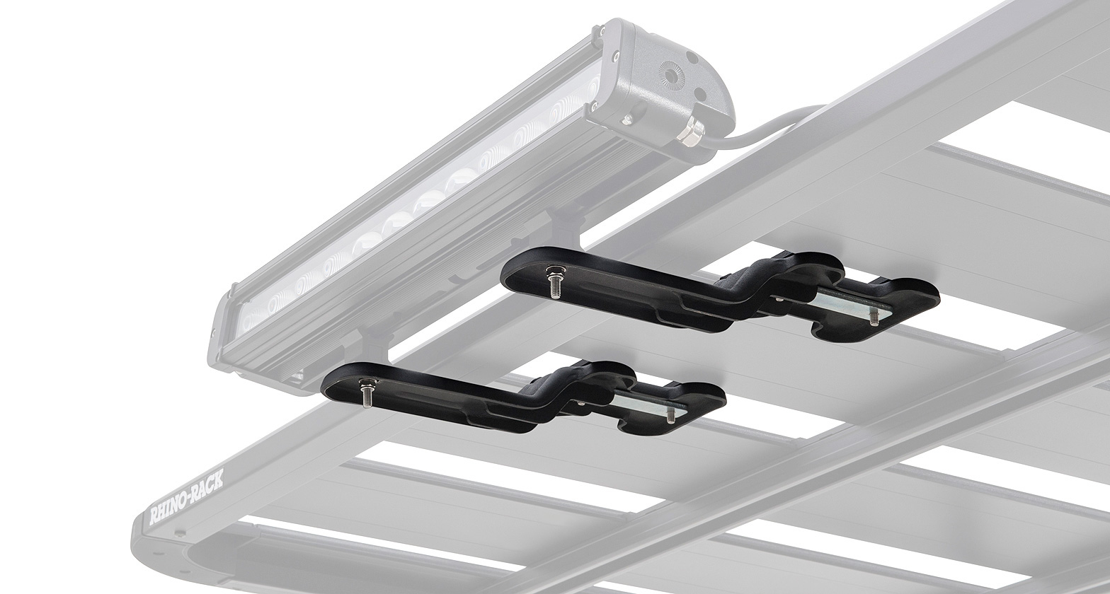 Roof Rack City Rhino Rack Pioneer Led Light Bracket 2 Pack