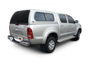 toyota hilux 2005-2015 dual cab with e g r premium canopy
