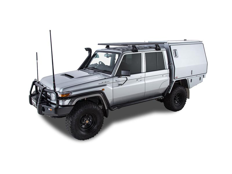 pioneer platform roof rack on 79 series dual cab