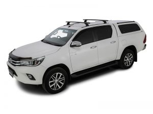gen 8 hilux with 2 roof bars