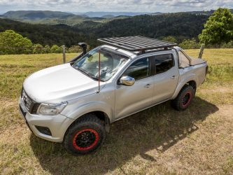 yakima lock n load platform on np300 navara in Gold Coast hinterland