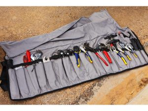Ultimate tool roll grey