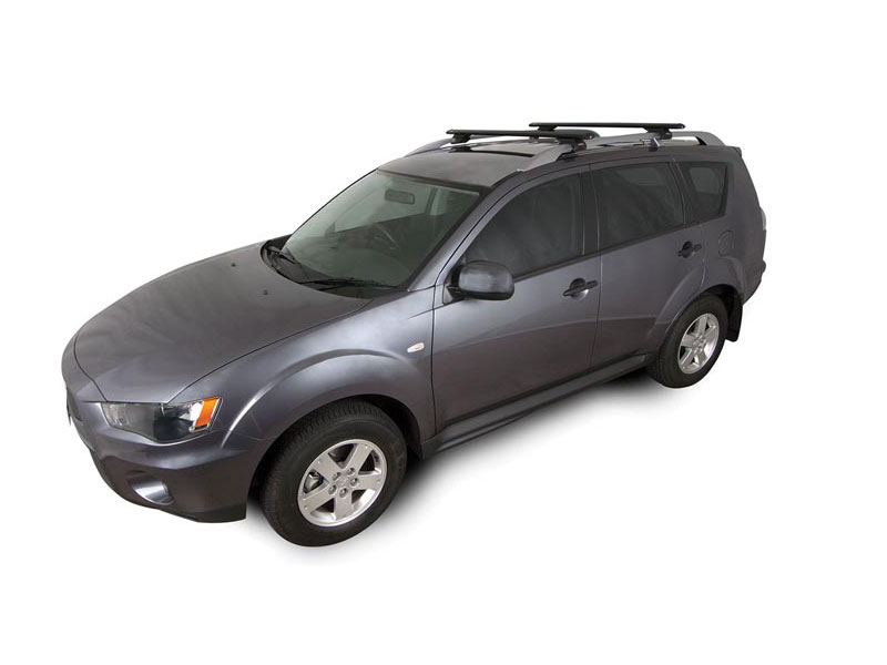 MITSUBISHI Outlander With Roof Rails 11/06 10/12 RHINO Vortex 2 Bar