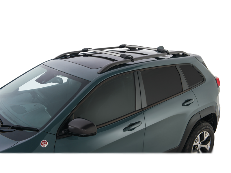 Roof Rack City Rhino Rack Vortex Stealthbar Black 2 Bar