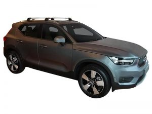 Flush Bar for Volvo XC40 black and silver