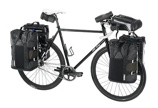 Roof Rack City Thule Pack N Pedal 100090 Tour Rack