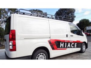2019 Hiace roof rack Tradesman Commercial Max