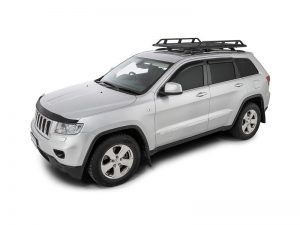 silver jeep grand cherokee with rhino pioneer tradie with rcl legs