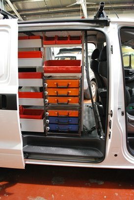 49597e7ee3 ... vehicle and serve as a guide to van fit outs for some popular trade vans.  All the systems are modular