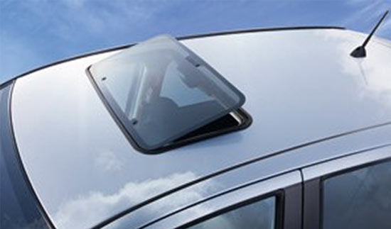 Hollandia 100 Series - Pop Up Sunroof