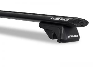 rhino rack sx100 vortex leg and bar closeup