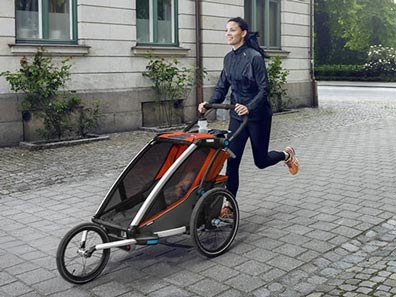thule chariot sport with jogging kit