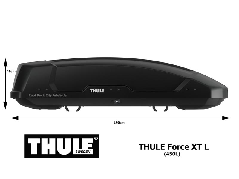Roof Rack City Thule Force Xt Large Roof Luggage Box