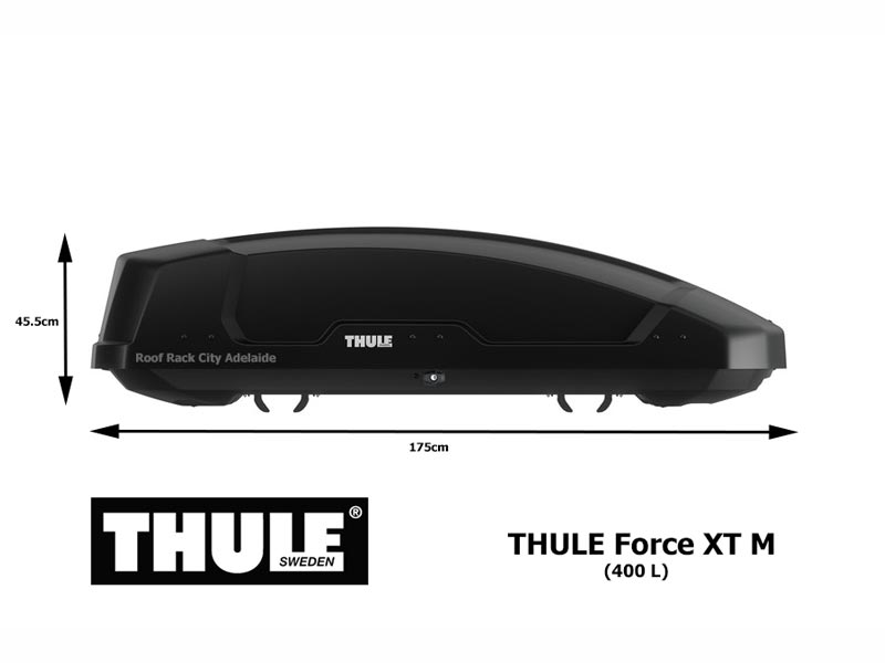Roof Rack City Thule Force Xt M Luggage Box 635200