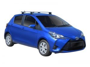 Toyota Yaris w/ whispbar roof racks
